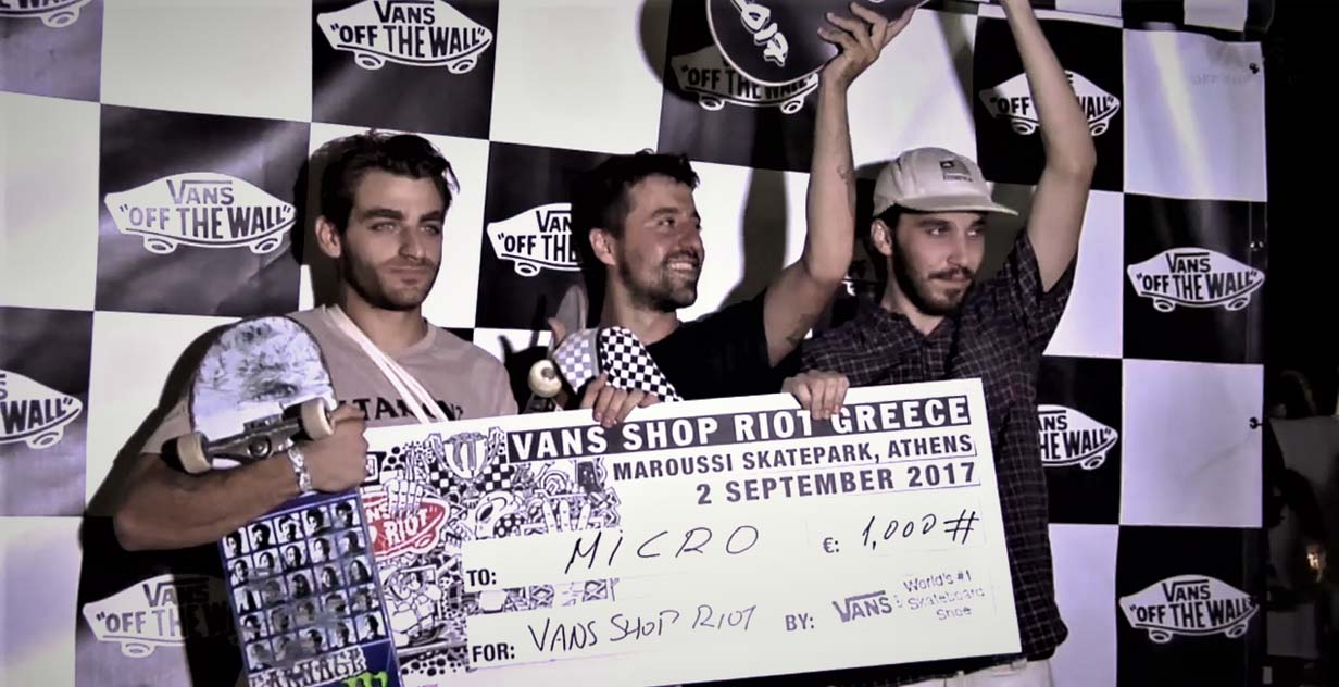 f5c9d24942 ... το Vans Shop Riot ήρθε στην Αθήνα για τέταρτη συνεχή χρονιά